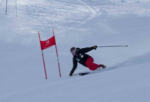 Charlie Telemark Skiing in Steamboat