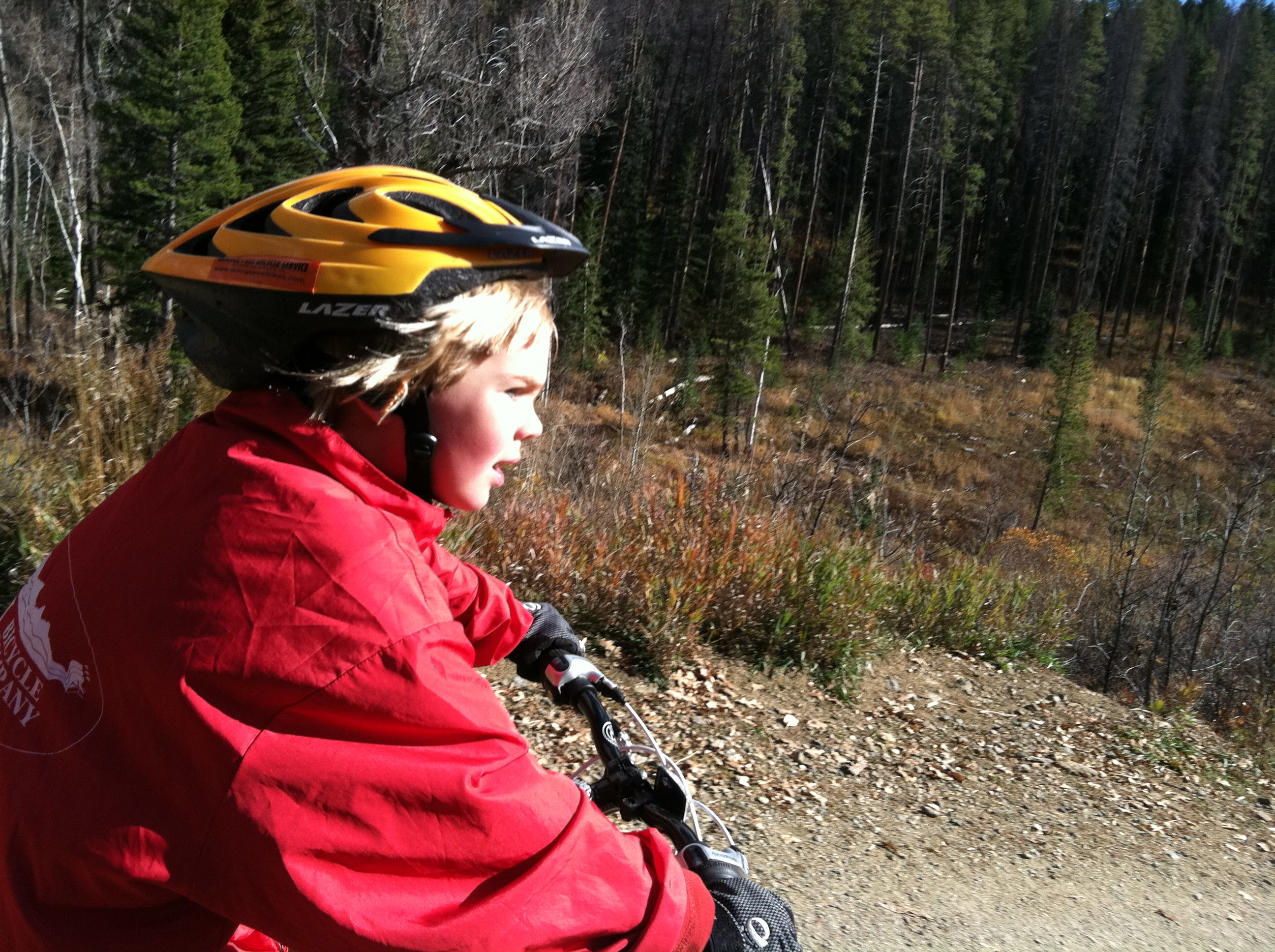 Biking Springs Creek with kids, safe routes to schools steamboat, bike