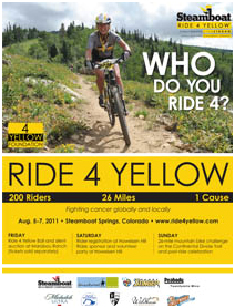 Ride for yellow steambaot springs