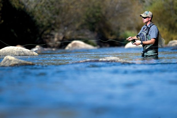 Fly Fishing on the Yampa