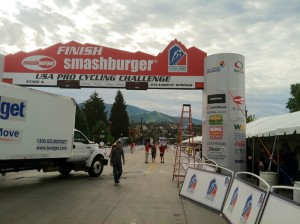 Downtown Steamboat Springs Finish Line