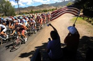 Spectators at USA Pro Cycling Challenge