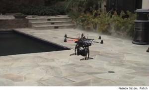 Hexacam on UAV