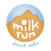 Milk Run Donut Cafe Logo