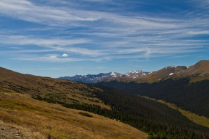 Trail Ridge Road in the Rocky Mountains