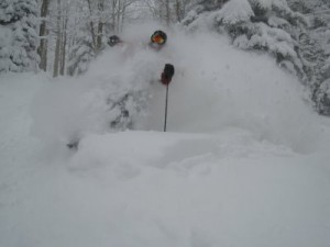 March Powder Day in Steamboat