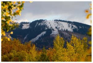 October Snow in Steamboat