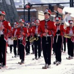 Steamboat High School Skiing Marching Band