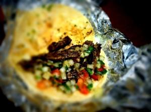 Carne Asada Taco in Steamboat Springs - Taco Del Barco
