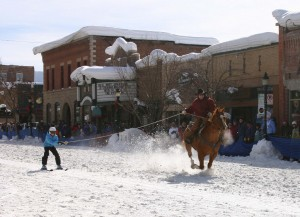 Winter Carnival Downtown Race