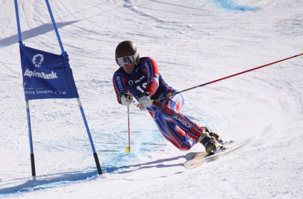 Charlie telemark racing to 9th