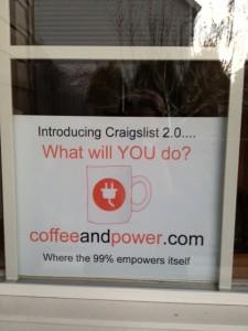 Coffee & Power: The New Craigslist 2.0?