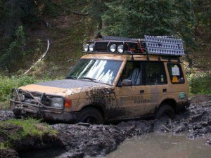 Stuck in the Mud in the Zirkel Wilderness Area