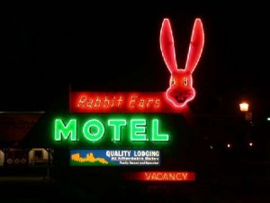 Iconic Rabbit Ears Motel in Downtown Steamboat