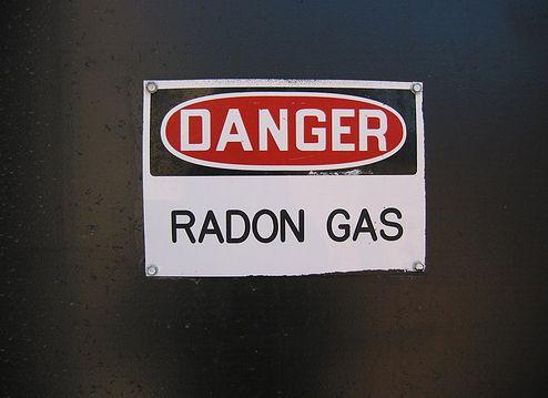 Danger!  Radon Gas