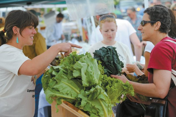 Main Street Farmers Market (originally published by the Steamboat Toady)