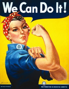 We Can Do It! (Image created by J. Howard Miller)