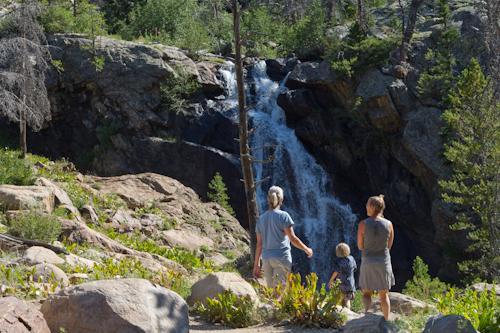 Upper Fish Creek Falls in Steamboat