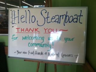 Hello Steamboat!