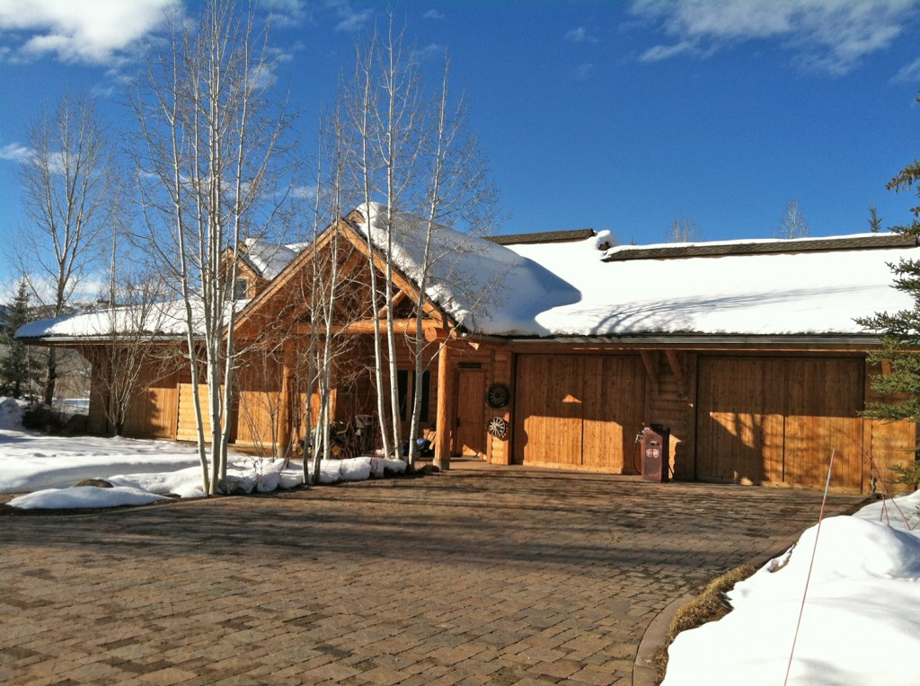 Garage at the ranch in Steamboat