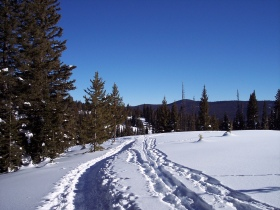 Hiking in Steamboat's backcountry