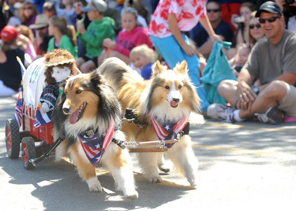 No float is too small for our 4th of July parade! (photo credit: SteamboatToday.com)