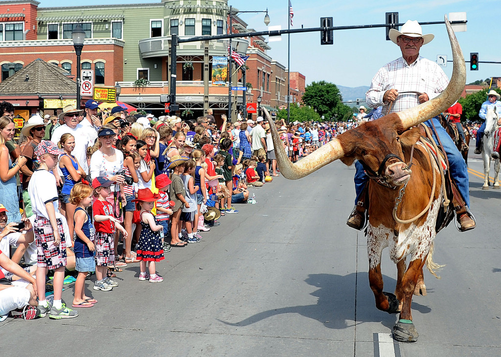 Independence Day parade Steamboat Style. (photo credit: SteamboatToday.com)