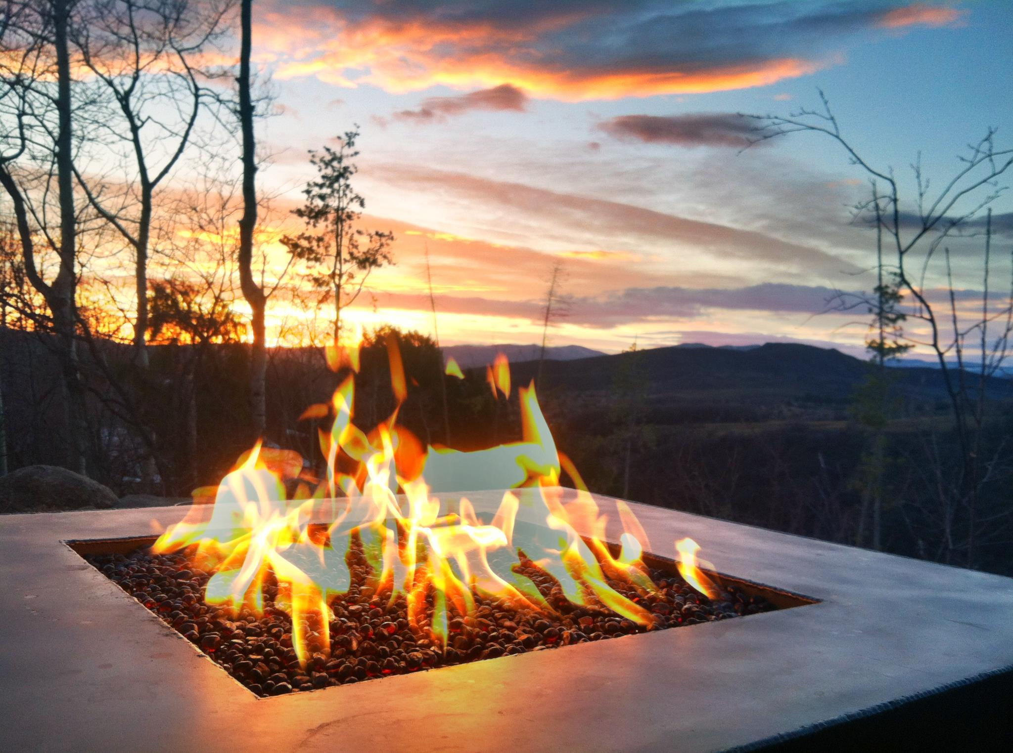 firepit, steamboat winter, steamboat lifestyle, outdoor living,