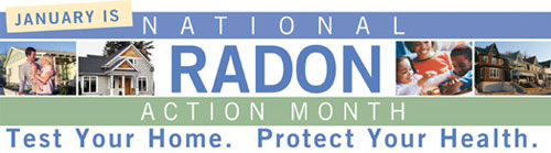 radon action month, what to do about high radon levels, radon in steamboat springs, Routt county radon levels, how to prevent radon