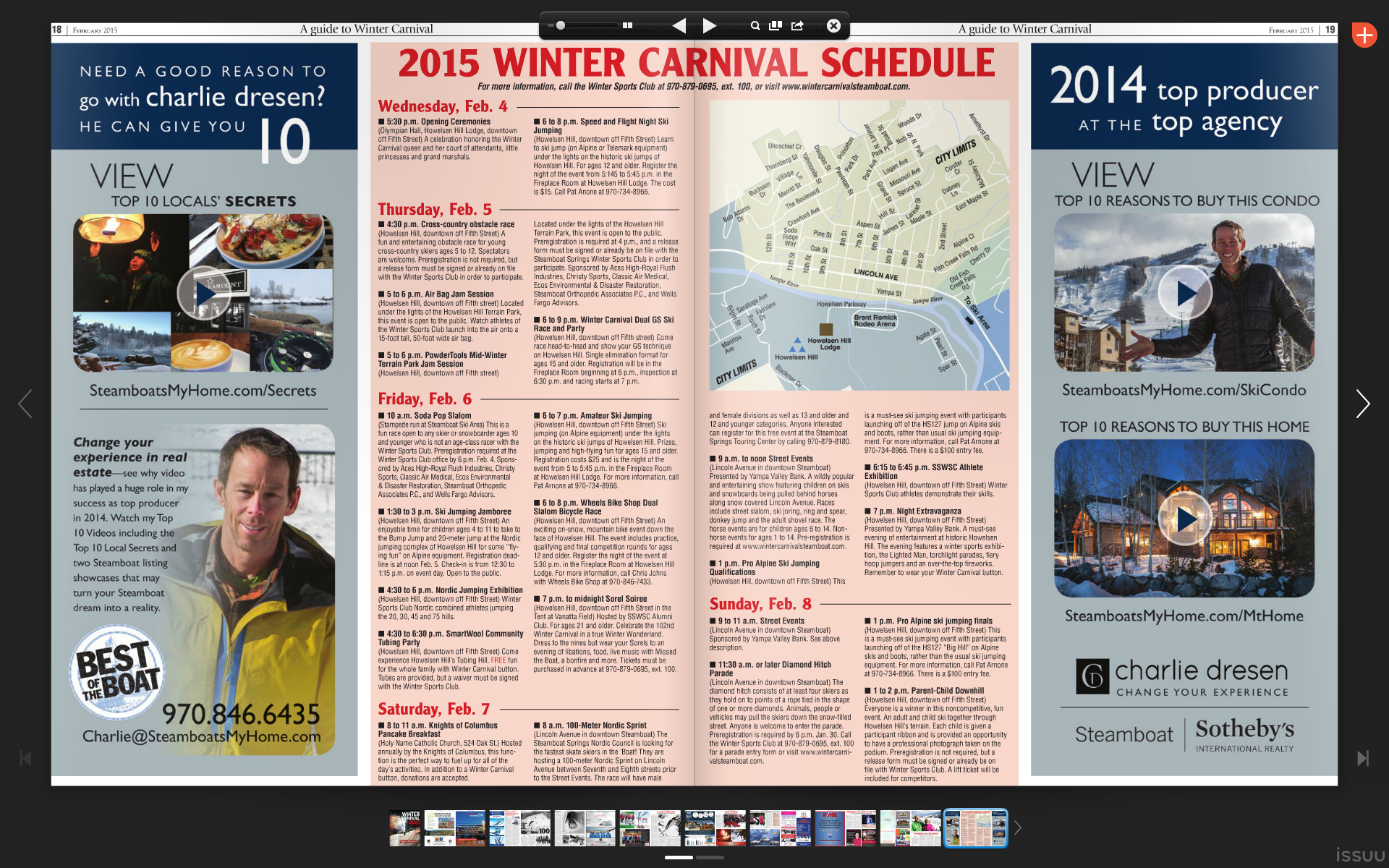 Winter Carnival Schedule