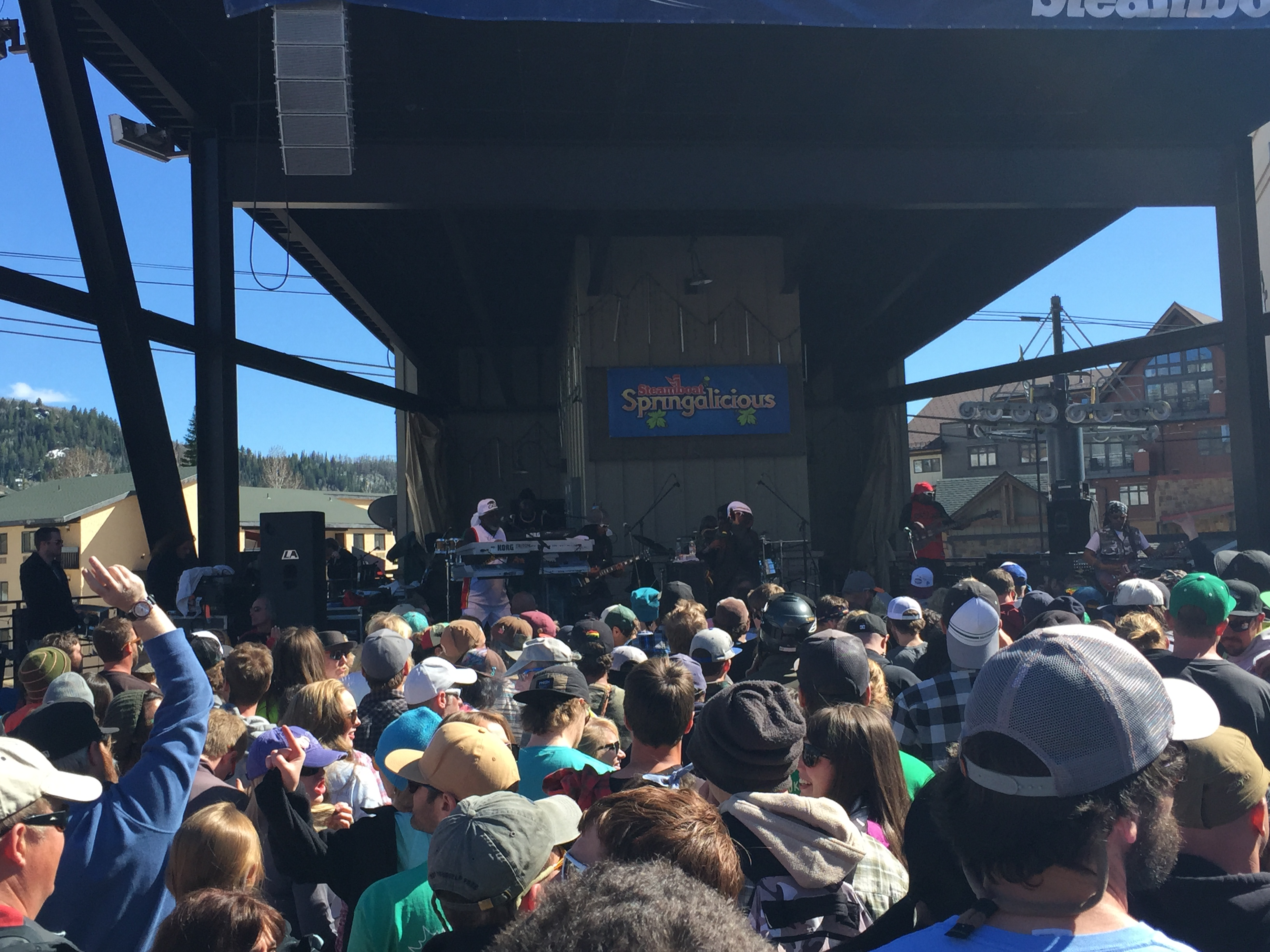 steel pulse, steamboat springs, springalicious, closing day, music in steamboat, band, reggae in steamboat, party at gondola square