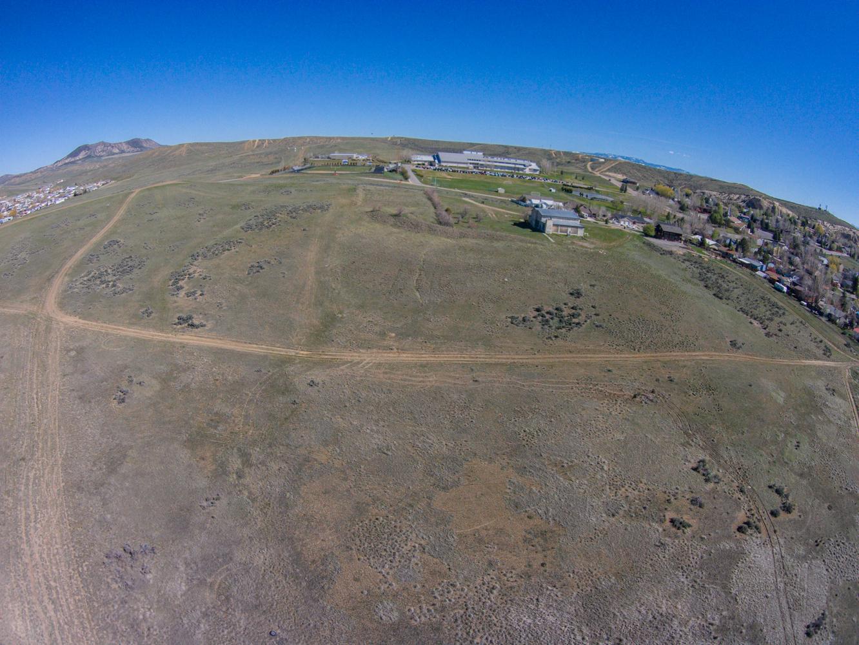 Aerial, housing development, Craig, CO, land development for sale, 23-acres, 90 home sites