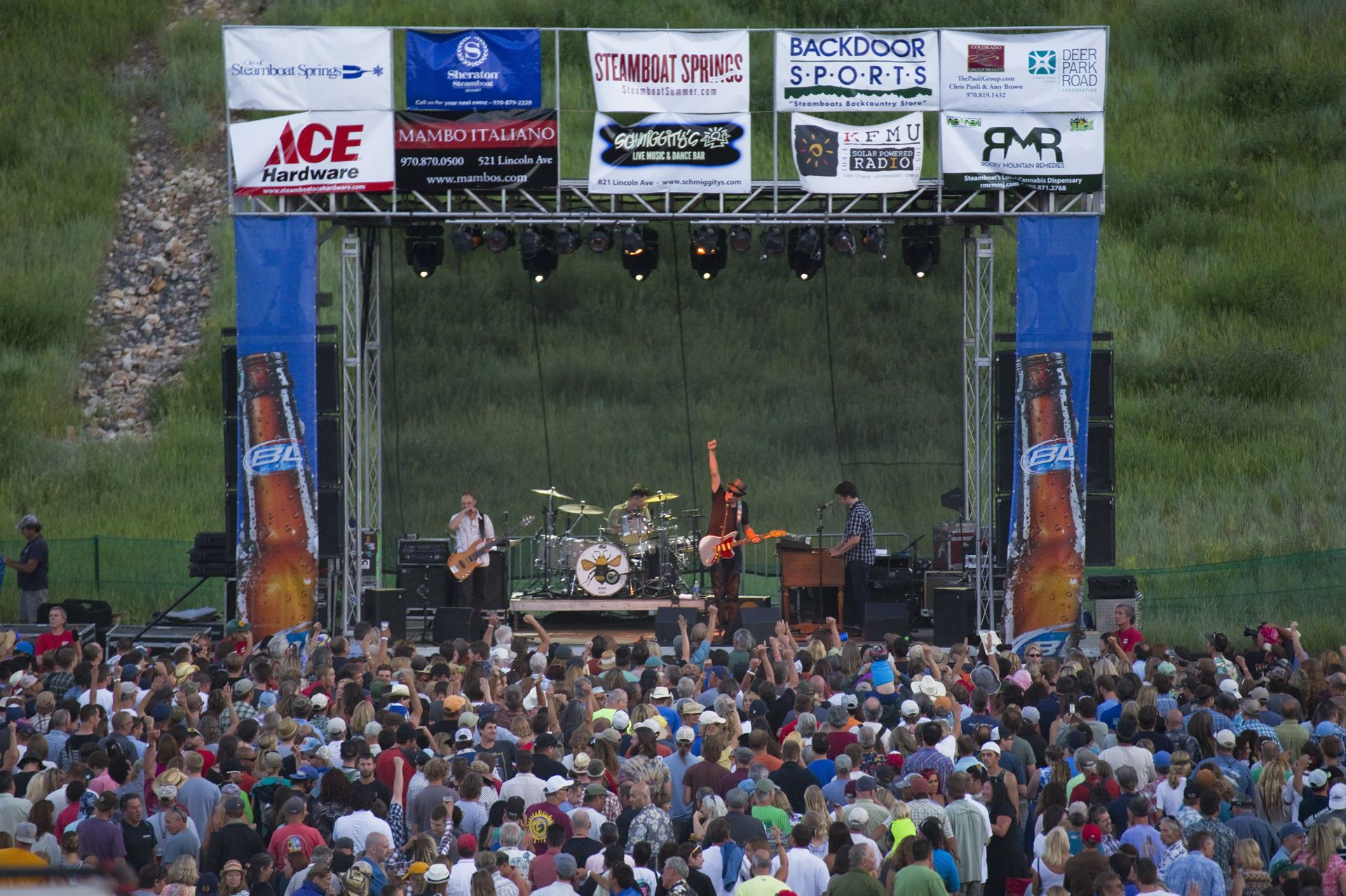 music, things to do in steamboat, summer concert series, free music,