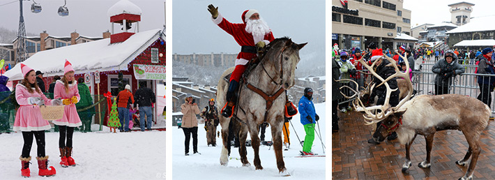 steamboat holiday activities, things to do with kids, family fun, family event in steamboat springs, holiday celebrations, steamboat resort, family friendly, santa in steamboat,